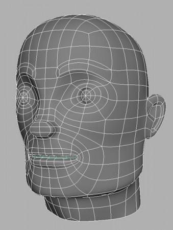 Round-Spaceman-Head-Wireframe